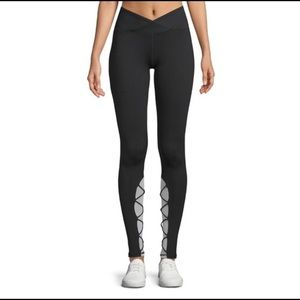 Electric Yoga Black/White Entrapped Leggings S